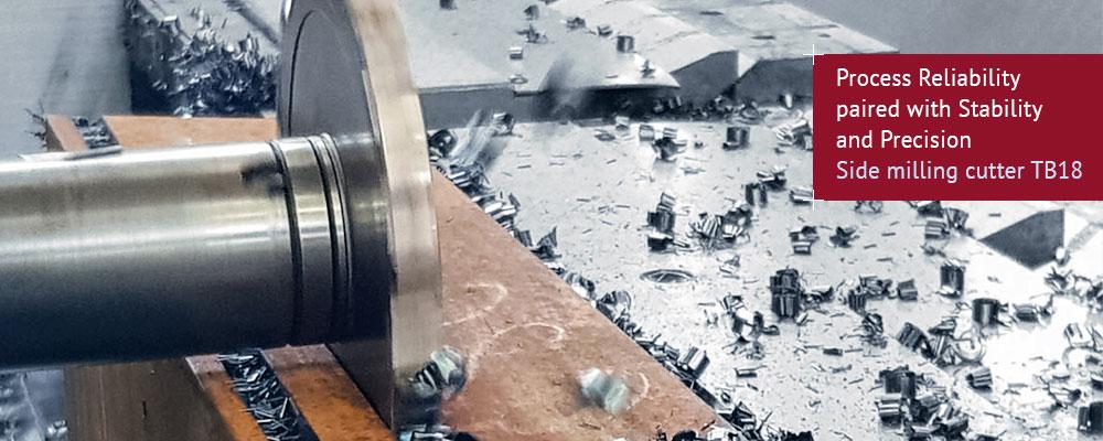 Side milling cutter TB18