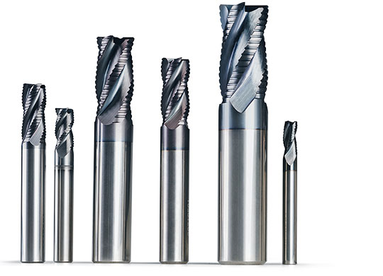 Shank end mills