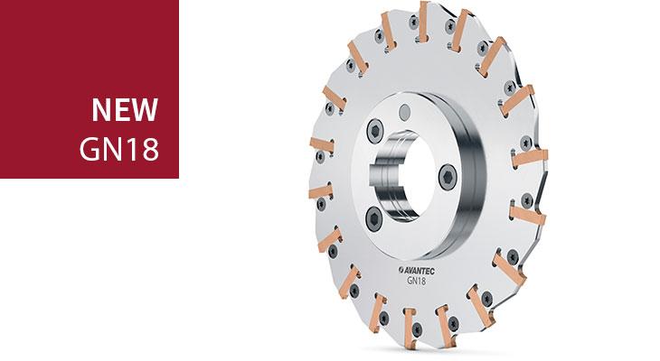 GN18 slot milling cutter