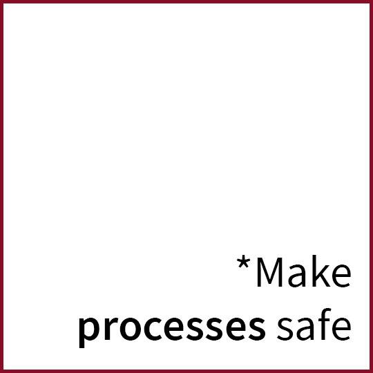 make prozesses safe