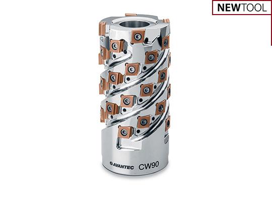 Walzenstirnfräser CW90