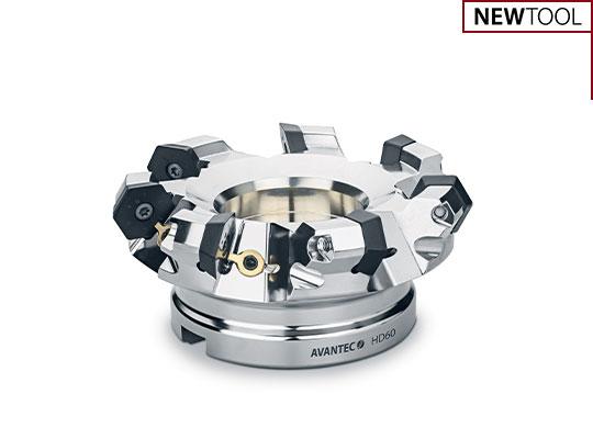 Face milling cutter HD60