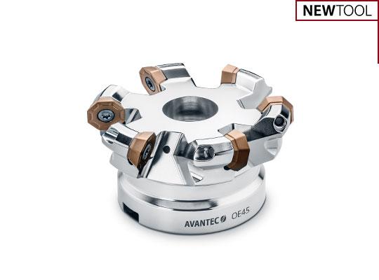 Face milling cutters OE45